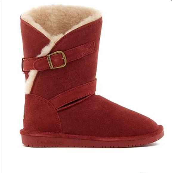 1d552e041d1a BearPaw Shoes - Bearpaw suede sheepskin boots size 11